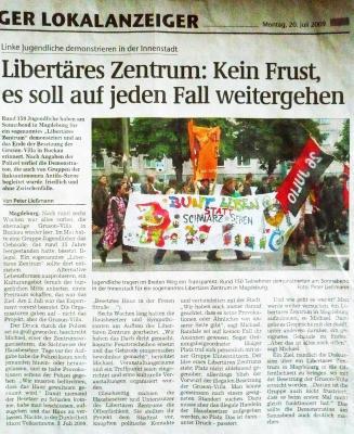 Artikel 20.Juli 2009