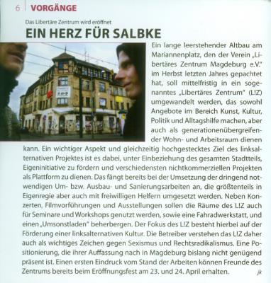Beitrag im Kulturfalter 4/2010